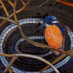 Lucy Cleary - Azure Kingfisher